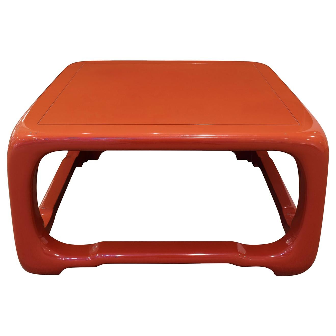 """Karl Springer """"Chinese Cube Style Coffee Table"""", 1980s"""