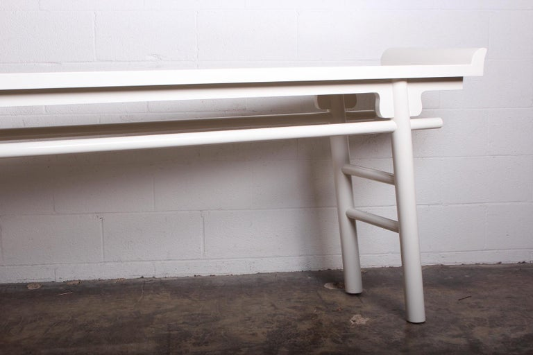 Karl Springer Console Table In Excellent Condition For Sale In Dallas, TX