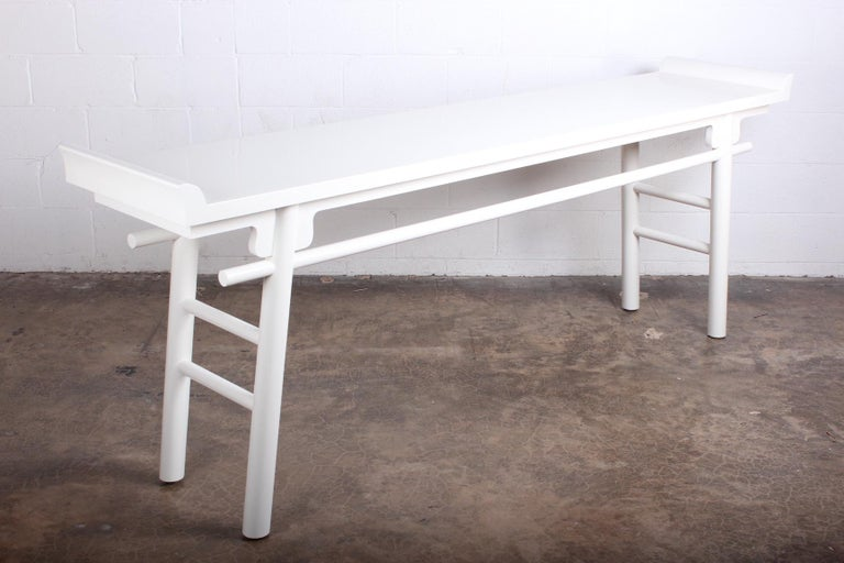 Karl Springer Console Table For Sale 4