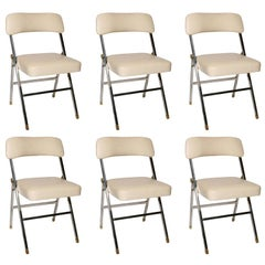 Karl Springer  Folding Chairs