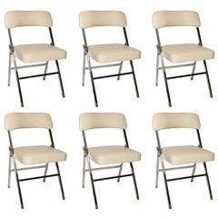 Karl Springer  Folding Chairs