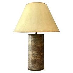 Karl Springer Goatskin Covered Lamp
