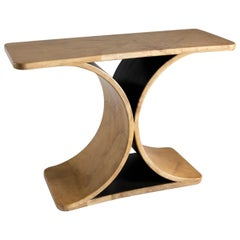 "Karl Springer, ""JMF"" Console Table, Mexico, 1974"