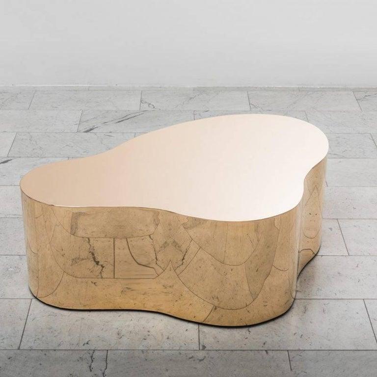 Karl Springer Free Form low C table, 2016
