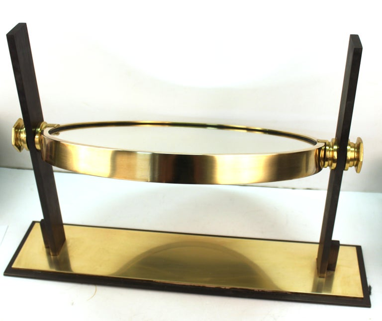 Karl Springer Modern Vanity or Table Mirror For Sale 6