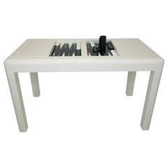 Karl Springer Parsons Backgammon Table