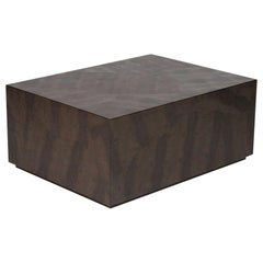 Karl Springer Python Snakeskin Coffee Table
