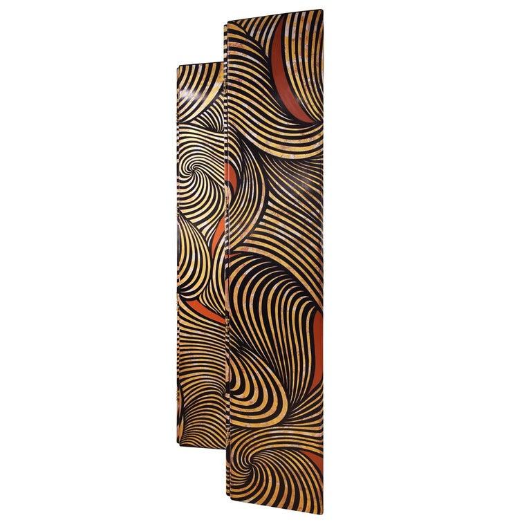 American Karl Springer Rare 4-Panel