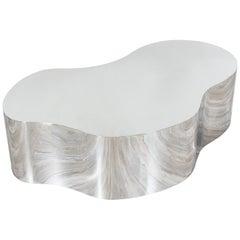 Karl Springer Stainless Steel Freeform Table