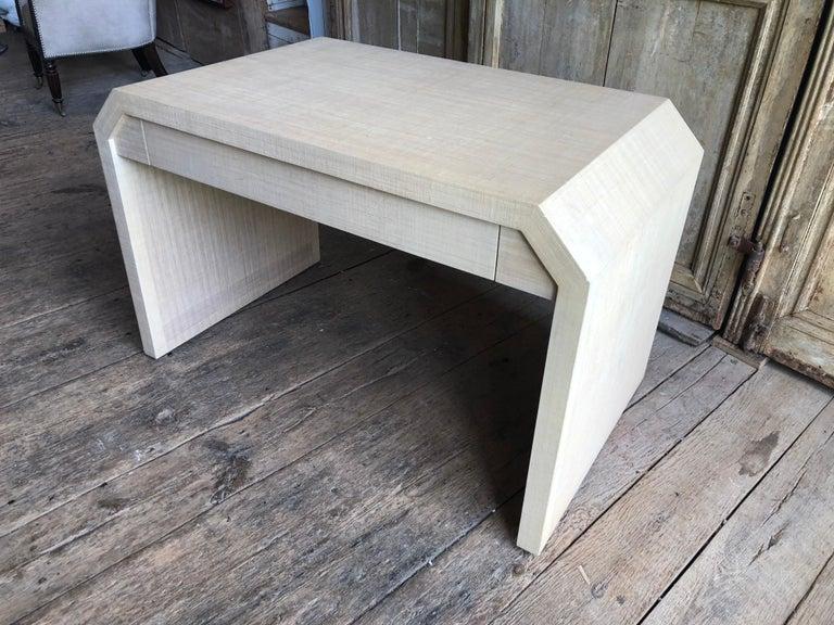 Mid-Century Modern Karl Springer Style Desk