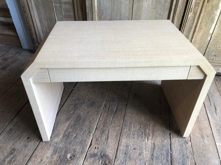 American Karl Springer Style Desk