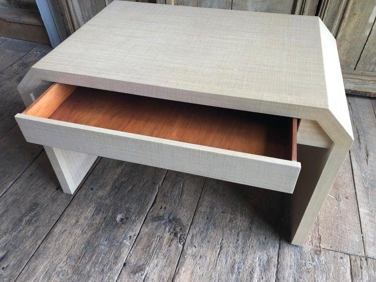20th Century Karl Springer Style Desk