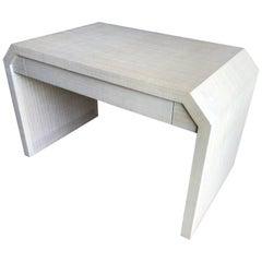 Karl Springer Style Desk