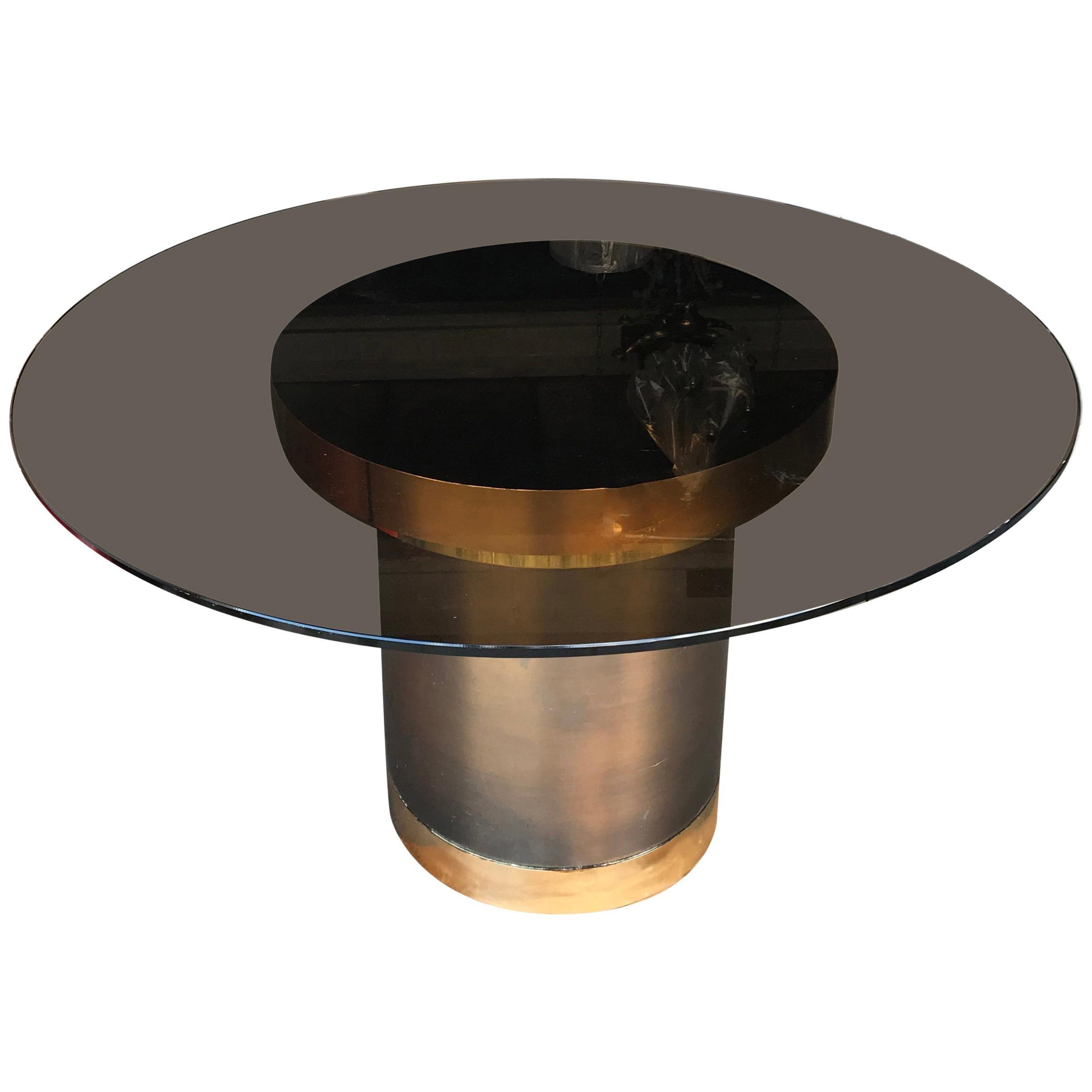 Karl Springer Style Round Table