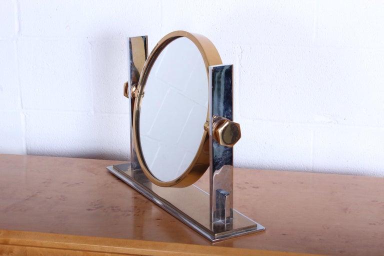 Karl Springer Table Top Mirror For Sale 4