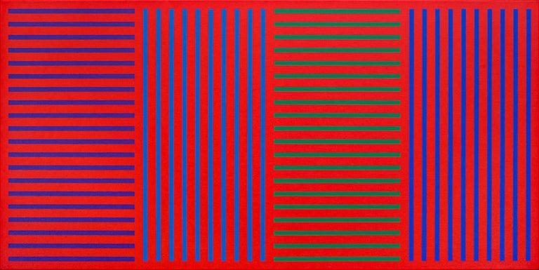 Karl Benjamin Abstract Painting - #32