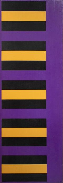 Bars- Black, Yellow, Purple