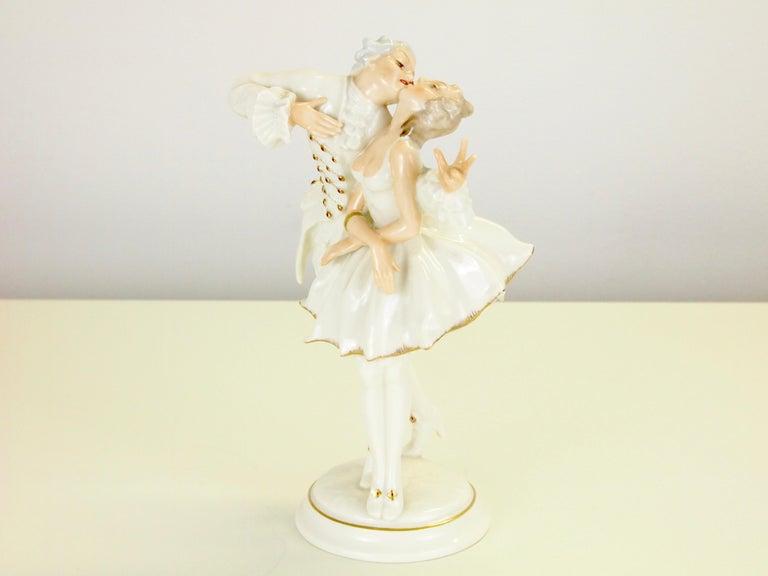 Karl Tutter for Hutschenreuther Selb Kunstabteiling Romantic Figurine For Sale 3