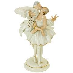 Karl Tutter for Hutschenreuther Selb Kunstabteiling Romantic Figurine