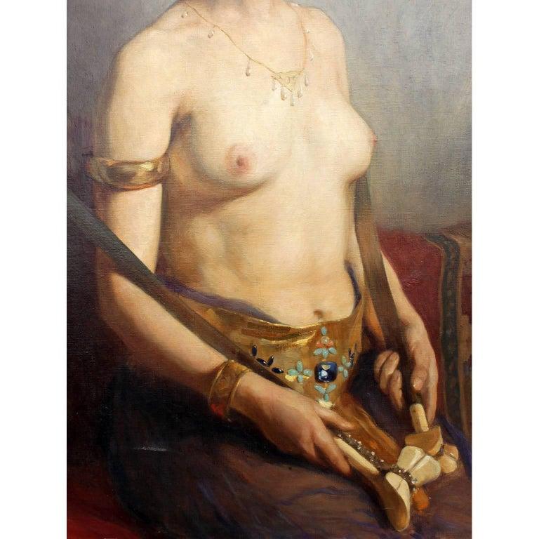 Karl Viktor Mayr, Austrian Oil on Canvas