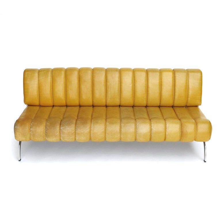 A freestanding sofa named 'Independence' designed by Karl Wittmann and manufactured by Wittmann Möbelwerkstätten, Austria, in midcentury, circa 1970.