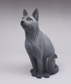 Ceramic Sculpture Titled: I Have a Cat