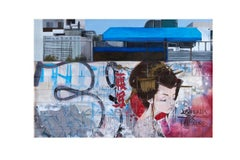 Asia - Original Urban Painting - Graffiti Inspired
