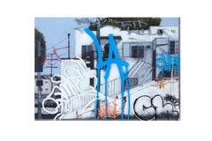 LA Hood - Original Urban Painting - Graffiti Inspired
