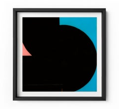 Baseline - Framed Limited Edition Print - Contemporary - Modern Abstract