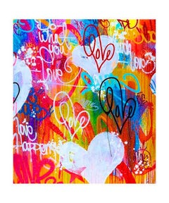 Do What You Love - Framed Limited Edition Fine Art Print - Graffiti Inspired