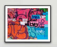 Me & You - Framed Limited Edition Print - Contemporary - Graffiti Inspired