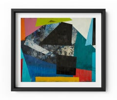Movement - Framed Limited Edition Print - Contemporary - Graffiti Inspired