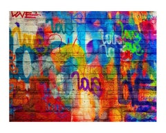 Off the Wall - Framed Limited Edition Fine Art Print - Contemporary Graffiti