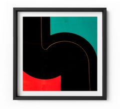 Redline - Framed Limited Edition Print - Contemporary - Modern Abstract