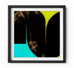 U-turn - Framed Limited Edition Print - Contemporary - Modern Abstract