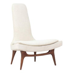 Karpen of California High-Back Lounge Chair