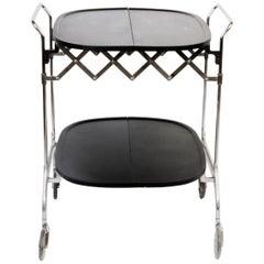 Kartel Black Bar Cart