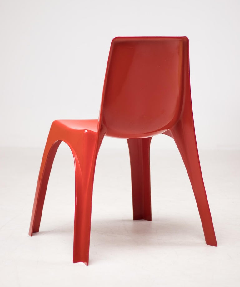 Molded Kartell 4850 Castiglioni Chair For Sale