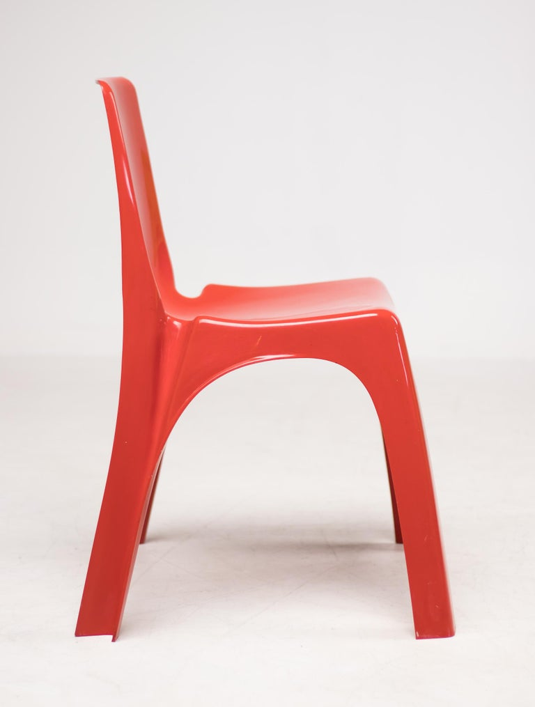 Kartell 4850 Castiglioni Chair In Good Condition For Sale In Dronten, NL