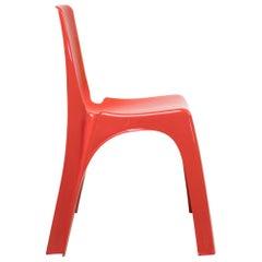 Kartell 4850 Chair by Giorgina Castiglioni, Giorgio Gaviraghi and Aldo Lanza