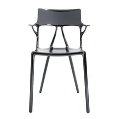 Kartell AI Chair in Titanium Created by Artificial Intelligence