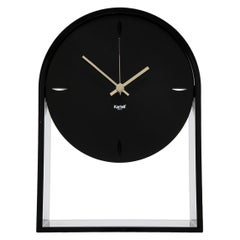 Kartell AIR DU TEMPS Table Clock in Black by Eugeni Quitllet