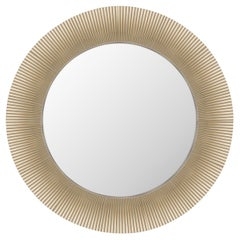 Kartell All Saints Mirror in Gold by Ludovica and Roberto Palomba