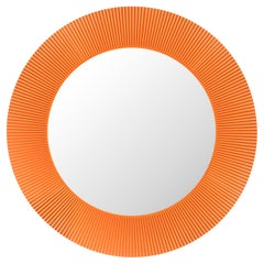 Kartell All Saints Mirror in Tangerine by Ludovica and Roberto Palomba