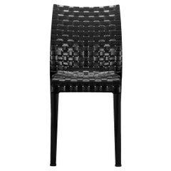 Kartell Ami Ami Chair in Glossy Black by Tokujin Yoshioka