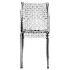 Kartell Ami Ami Chair in Smoke by Tokujin Yoshioka