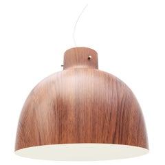 Kartell Bellissima Pendant Light in Wood & White by Ferruccio Laviani