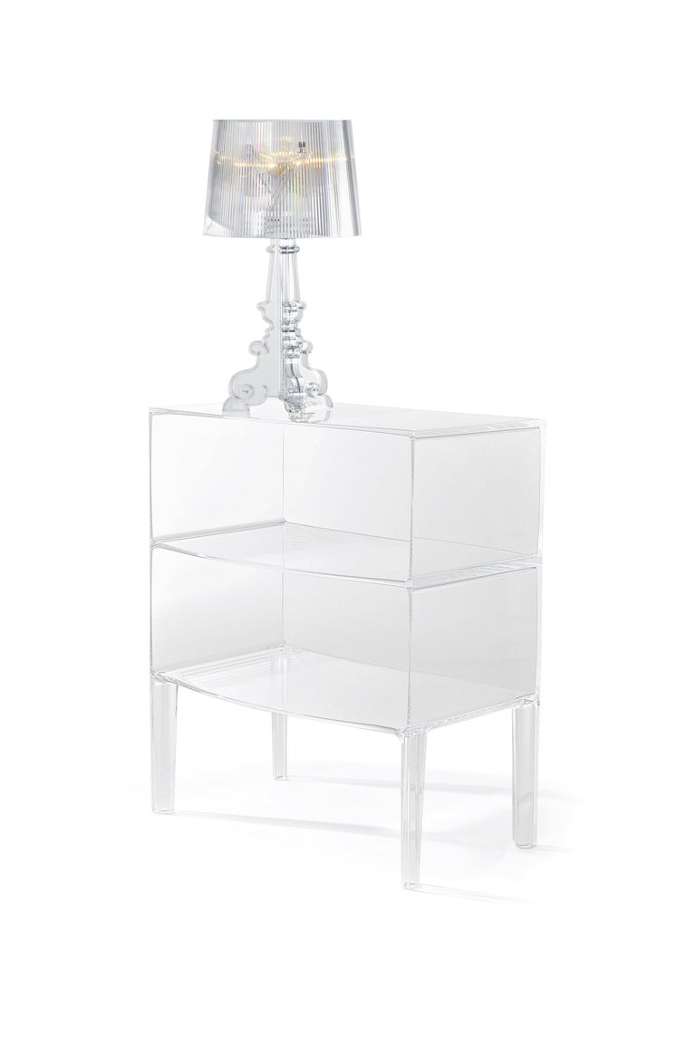 Italian Kartell Bourgie Lamp in Crystal by Ferruccio Laviani For Sale
