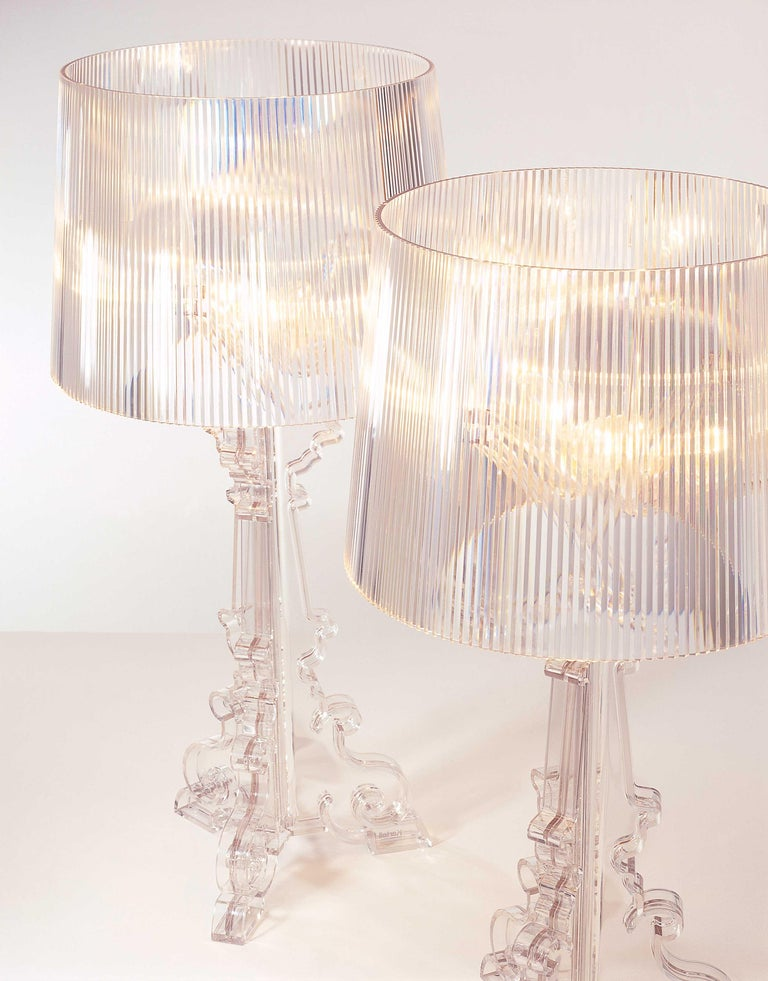 Kartell Bourgie Lamp in Crystal by Ferruccio Laviani In New Condition For Sale In New York, NY