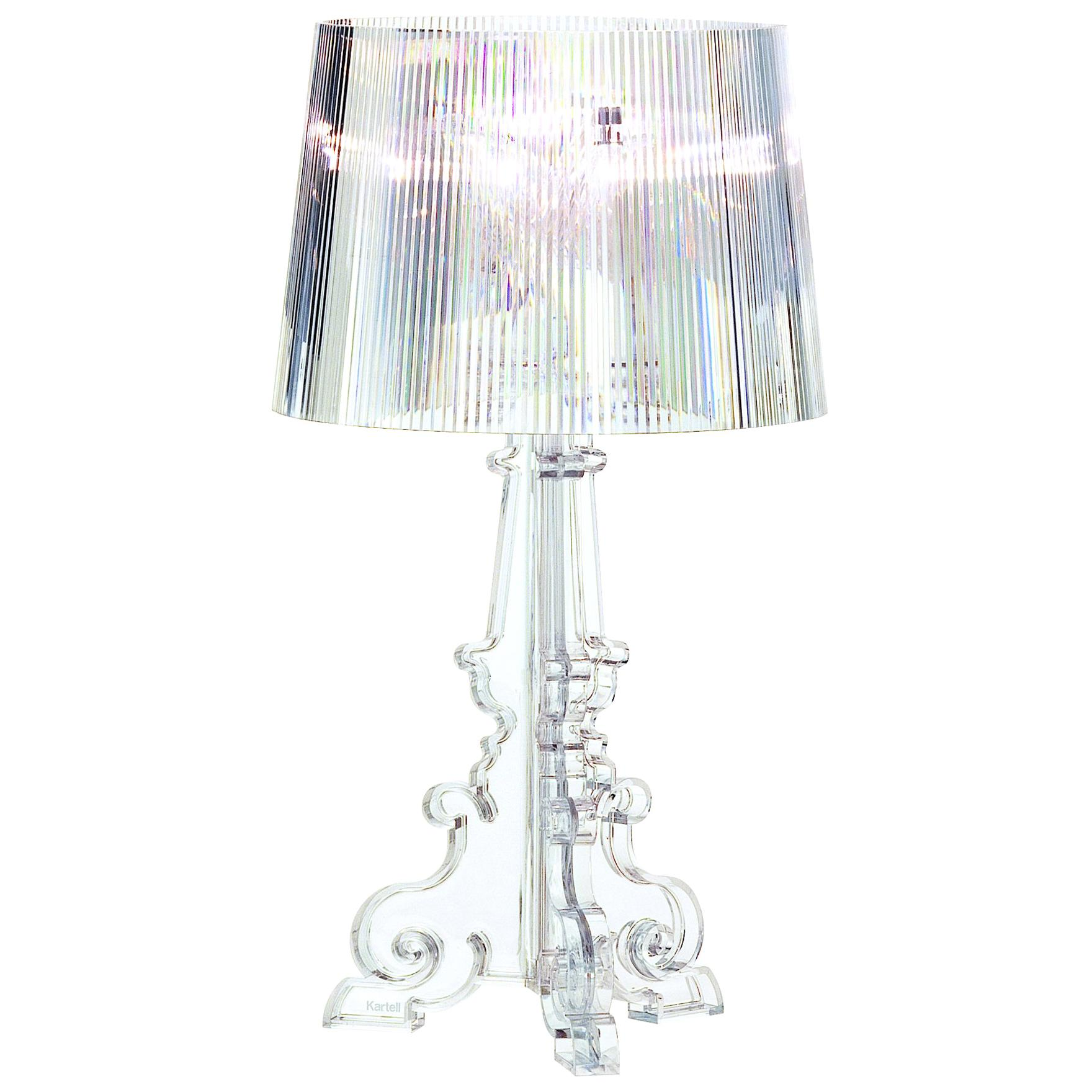 Kartell Bourgie Lamp in Crystal by Ferruccio Laviani